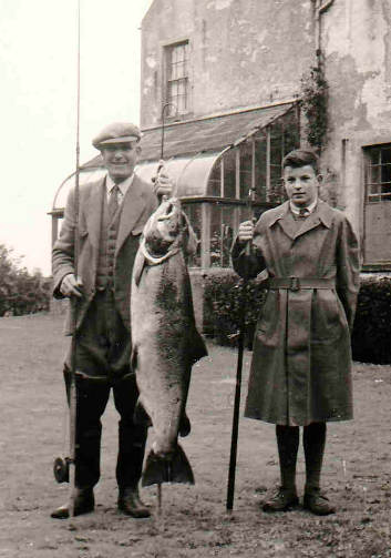 Old photo of catch